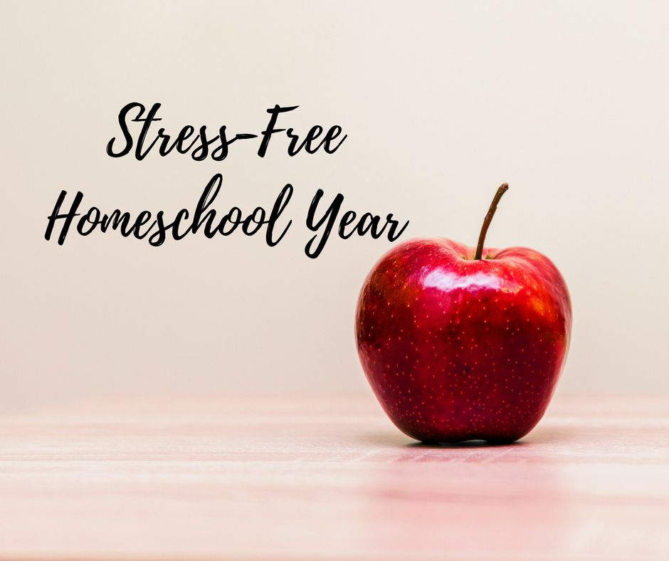 """""""4 Steps to a Stress-Free Homeschool Year"""""""