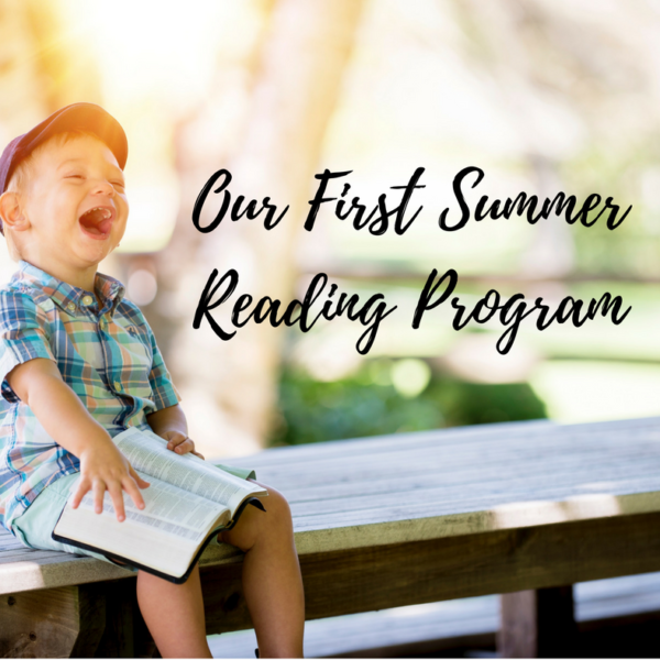 Our First Summer Reading Program!