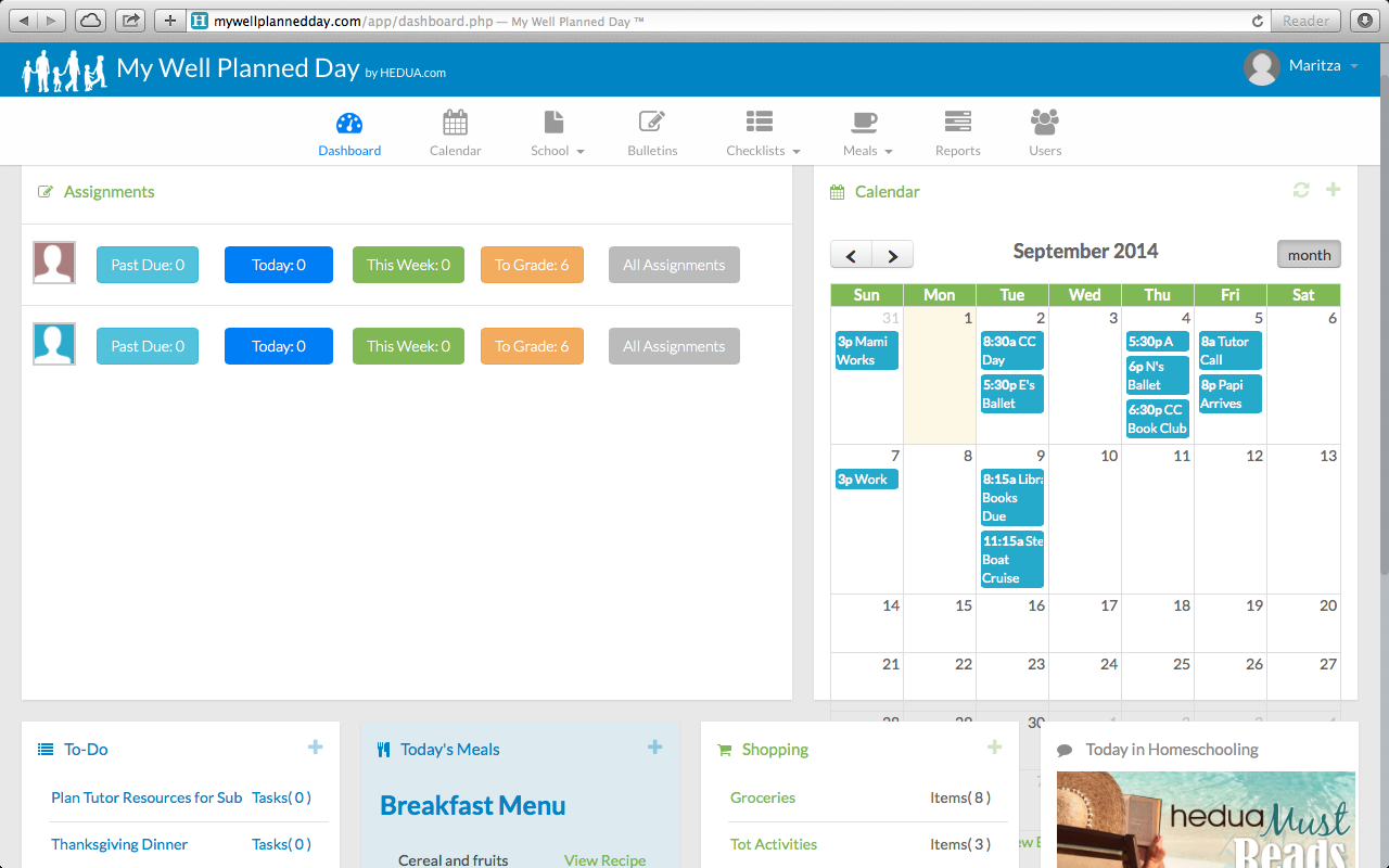 Well planned gal s digital planner a review for What is a planner dashboard