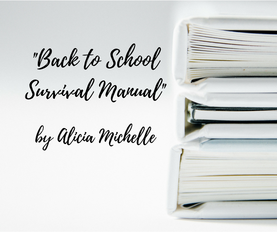 """""""Back To School Survival Manual""""-REVIEW"""