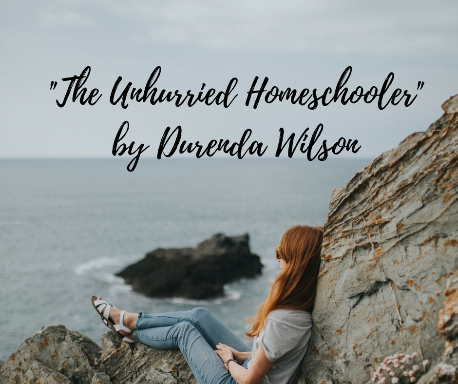 """The Unhurrried Homeschooler"" Review and Giveaway"