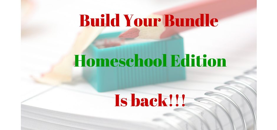 Build Your Bundle Coming Soon! Practical Resources for Busy Homeschooling Moms in One Place!